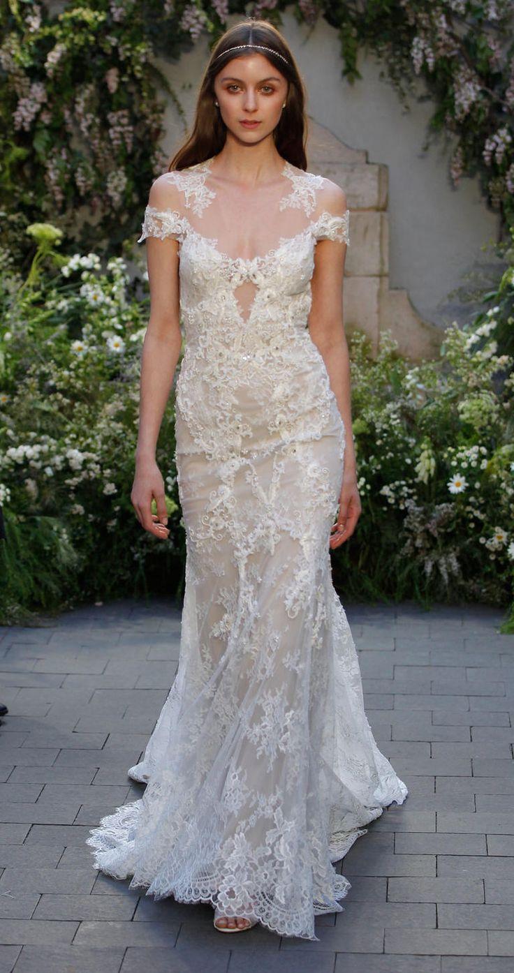Monique Lhuillier wedding dresses 2017 | itakeyou #weddinggown #bridalgown #aromabotanical