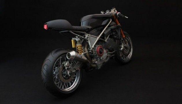Back side of Custom Ducati 999S BY Venier Customs