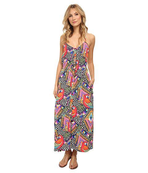 Mara Hoffman Column Dress Loros Voile - 6pm.com