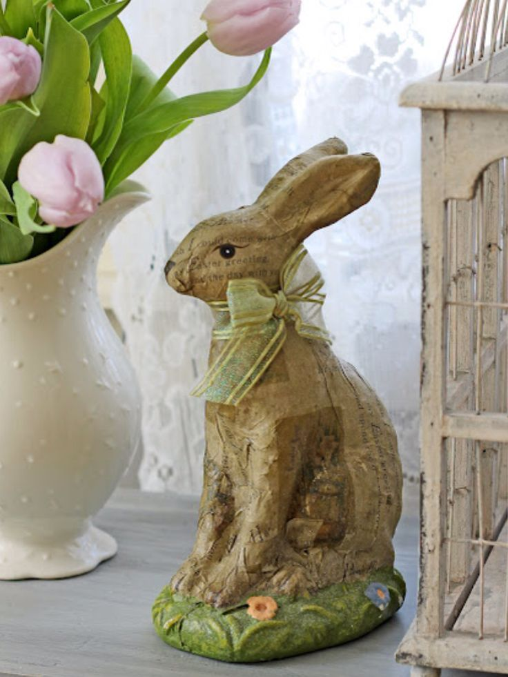 198 Best Easter Bunny Decor Images On Pinterest