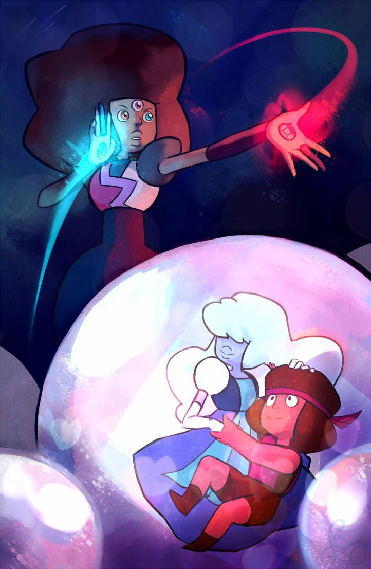 Steven Universe Sapphire And Ruby Love Fan Art