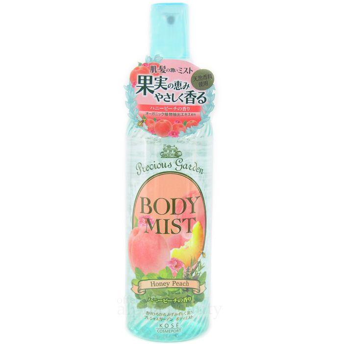 Kose Japan Precious Garden Body Moisturizing Mist (200ml/6.7oz) - Honey Peach