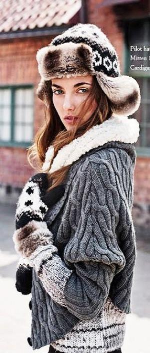 winter knitted ways ♥✤ | Keep Smiling | BeStayBeautiful