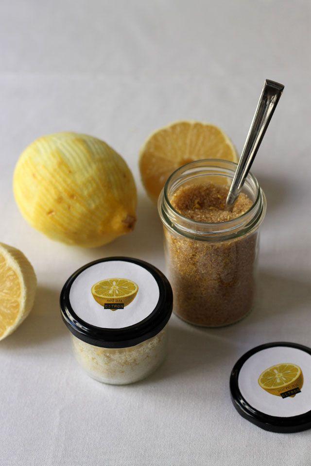 Simplette : fleur de sel et sucre au citron, recettes et étiquettes