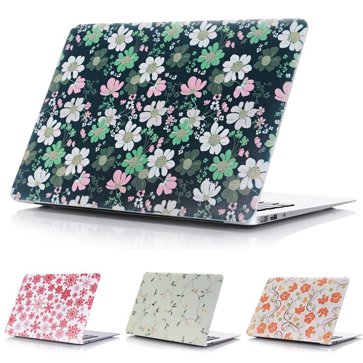 Color Flower Style Protective Hard Case Shell for MacBook 12 inch Air 11 13 inch Pro 13 15 inch Pro Retina 13 15 inch Touch Bar #Affiliate