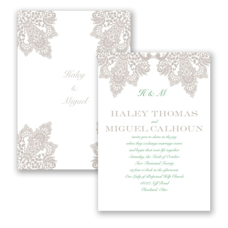 17 best Wedding invitations ideas images on Pinterest | Invitation ...