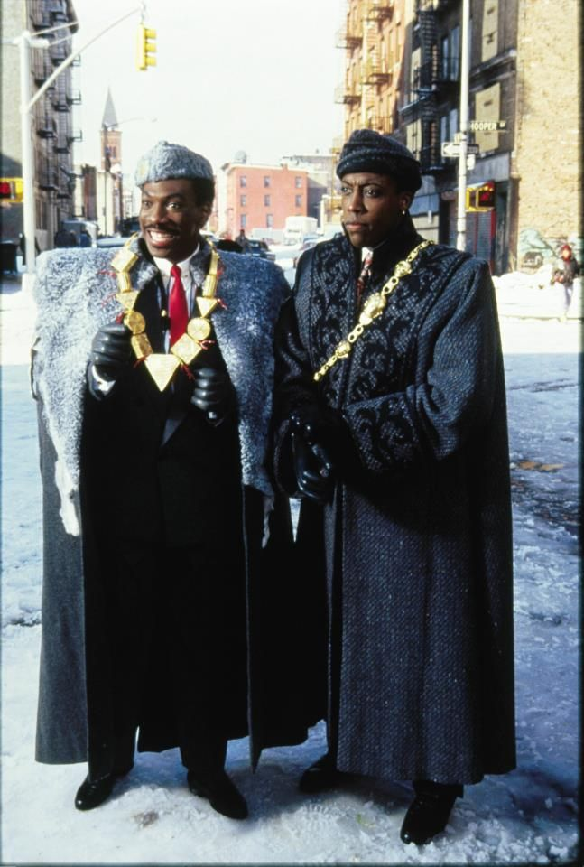 """""""And, baby, when I tell ya the boy has got his own money, I mean the boy has got his own MONEY!"""" - Coming to America"""
