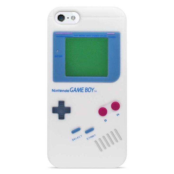 Silikonový kryt GAMEBOY pro iPhone 5/5s #case #kryt #iphone