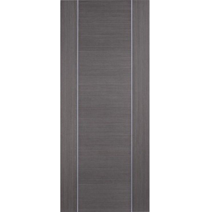 Contemporary Alcaraz Grey Internal Door