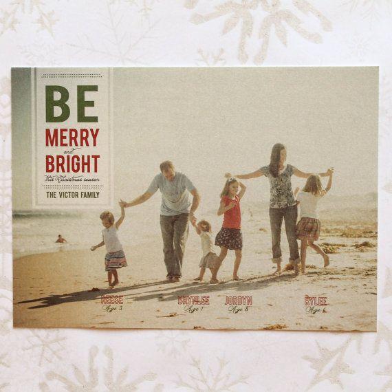 Christmas Card Template or Print