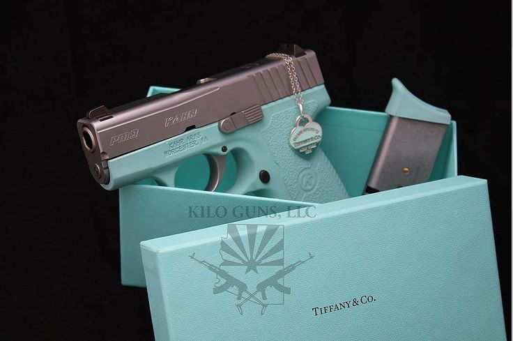 I am not a fan of guns in different colors, but I must admit this is badass.
