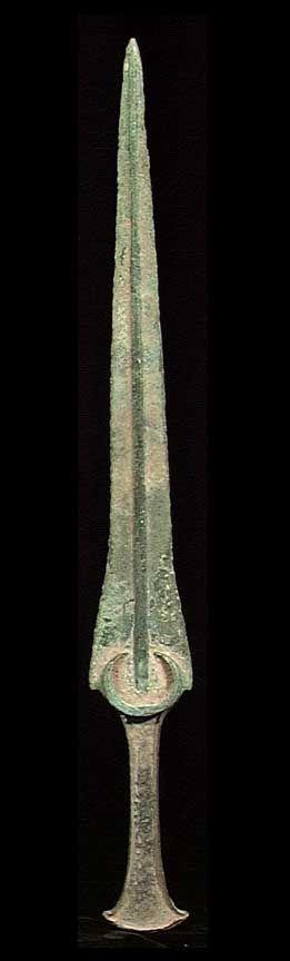 A FINE MARLIK BRONZE DAGGER. Persia, ca. 800 BC.