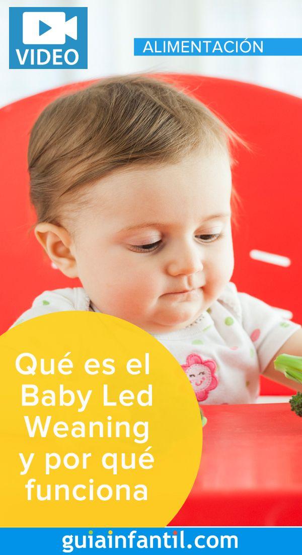VIDEO. Baby Lead Weaning o cómo dejar que el bebé decida cómo y cuánto comer