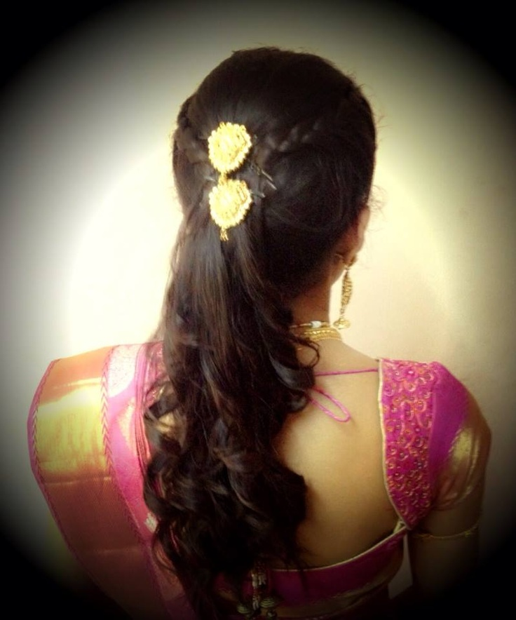 #bridal #haristyles #indian - for more gerat inspirations visit us at Bride's Book http://www.brides-book.com
