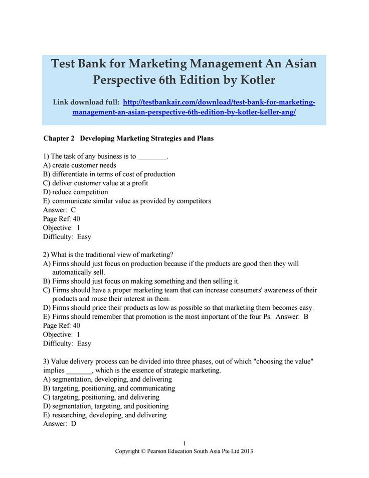 50 best test bank issuu images on pinterest download test bank for marketing management an asian perspective 6th edition by kotler keller ang fandeluxe Choice Image
