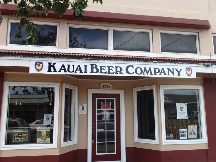 *Kauai Beer Company - Lihue | This beer company is way better than Kauai Island Brewing, in my opinion.