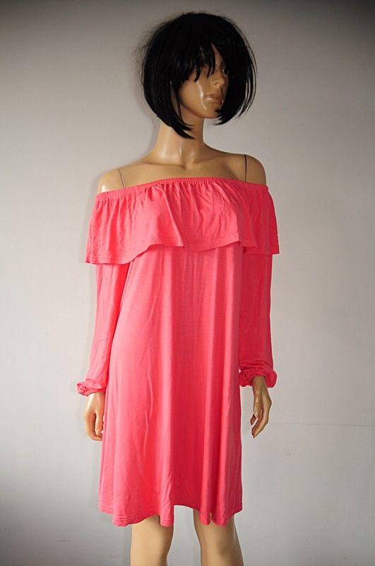 38db19de22 Atmosphere sukienka różowa hiszpanka 42 - Vinted
