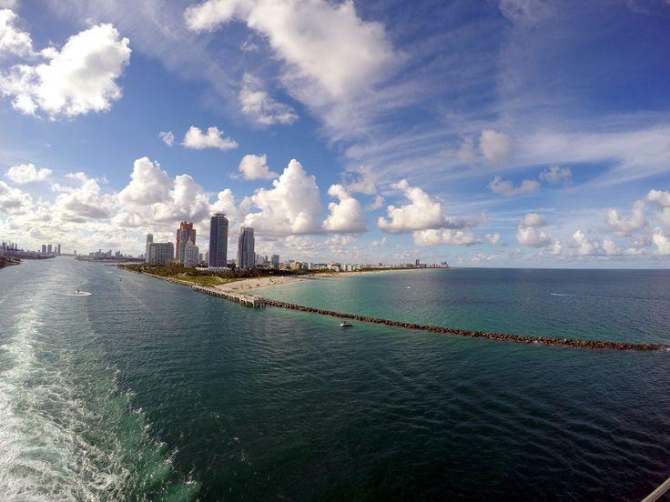 Leaving Miami beach was never so good
