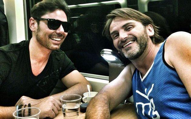 Miguel Poveda y Fernando Tejero se encuentran en un tren con destino Andalucía
