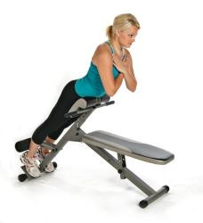 @Overstock.com - Stamina Ab/Hyper Bench Pro Foldable Fitness Machine with Padded Bench - Use this manual fitness machine to strengthen your core and back. Featuring a padded bench, easy-to-reach hand grips, and an adjustable footrest, this heavy-duty machine can be folded and stashed in the closet or under your bed when not in use.  http://www.overstock.com/Sports-Toys/Stamina-Ab-Hyper-Bench-Pro-Foldable-Fitness-Machine-with-Padded-Bench/6372783/product.html?CID=214117 $179.00