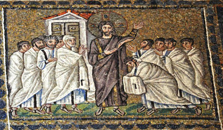 Jesus Appears to the Apostles Church of Sant'Apollinare Nuovo, Ravenna