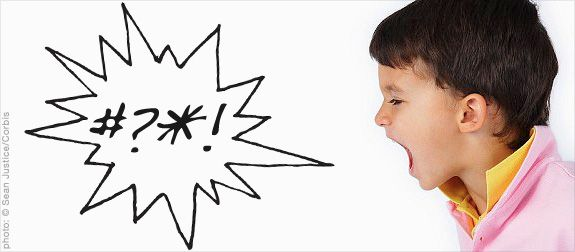 I Let My 4-year-Old Swear: Why Kids' Cursing Isn't Always a Bad Thing. I am basically of the same mind as this daddy, only we have an explicit rule that there are some words we don't say around other people--there are words that bother others, so out of respect for them we change our language.