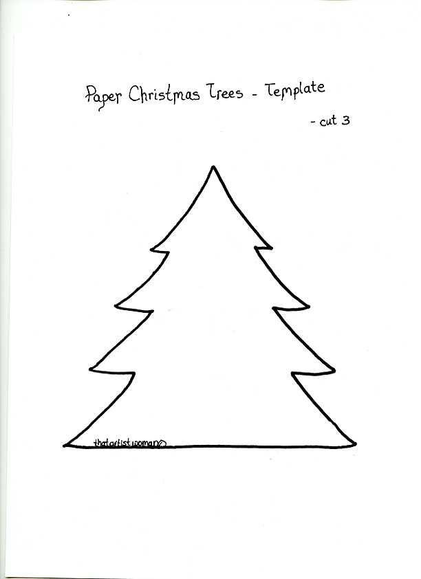 Plantilla arbol navidad nadal pinterest rboles - Arbol de navidad sencillo ...