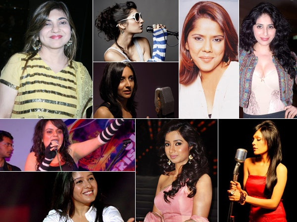 10 Present Female Playback Singers of Bollywood