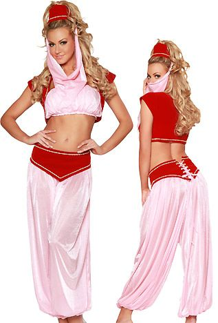 sexy jeannie costumes for women masters wish - Wish Halloween Costumes