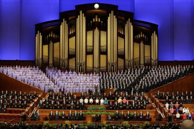 Les mormons réitèrent leur opposition au mariage entre conjoints de même sexe
