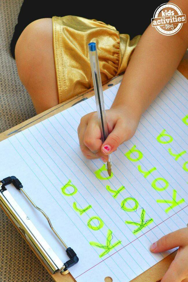 Good way to learn to write