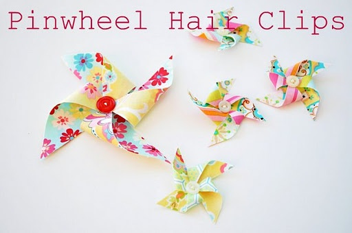 how to make little girl flower hair bows