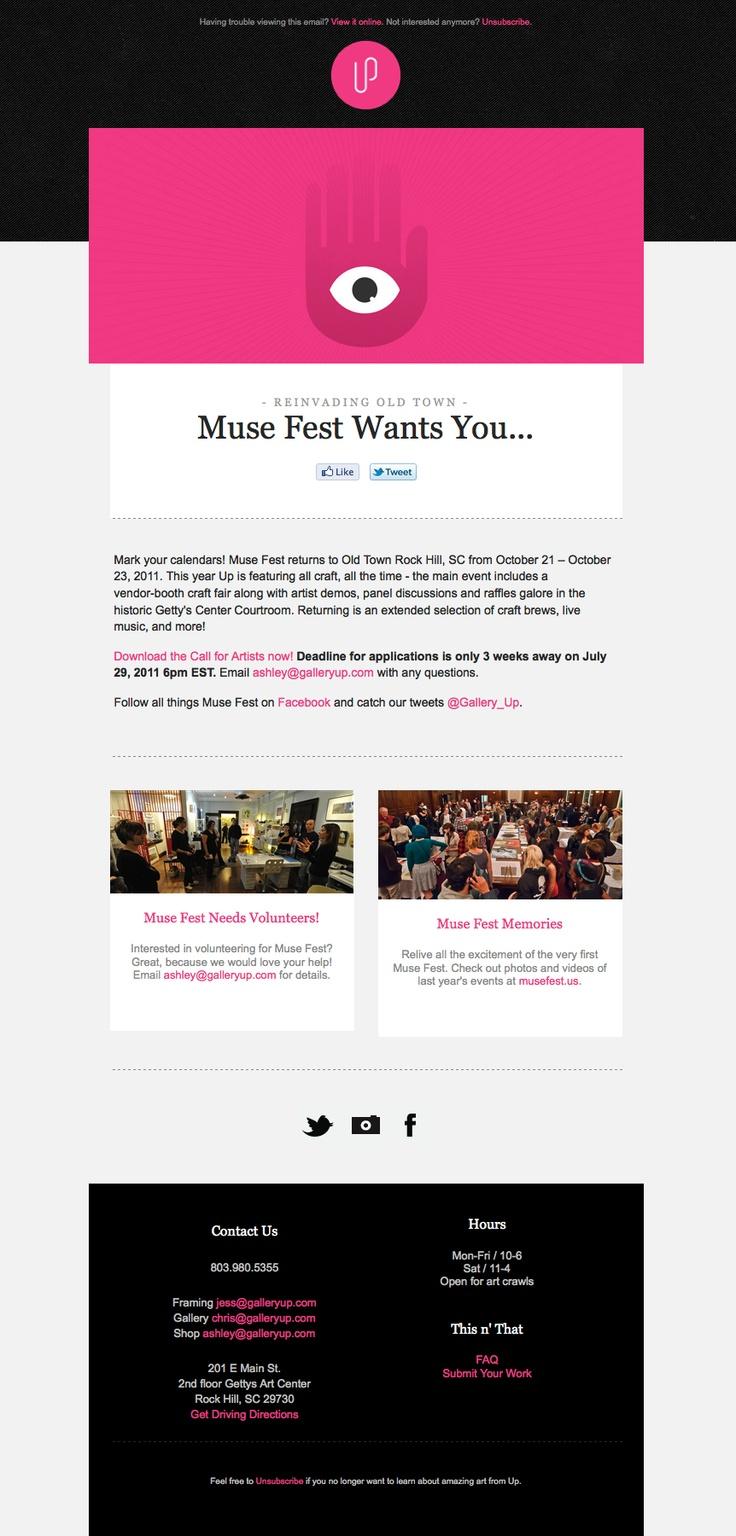 7 best EDM Templates images on Pinterest | Email newsletter design ...