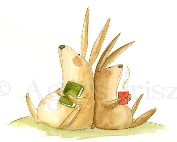 Rabbits // Nyulak - Irisz Agócs
