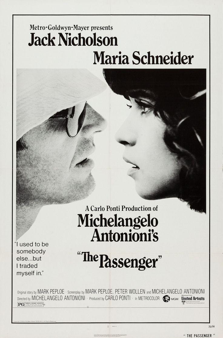 The Passenger (1975) starring Jack Nicholson & Maria Schneider