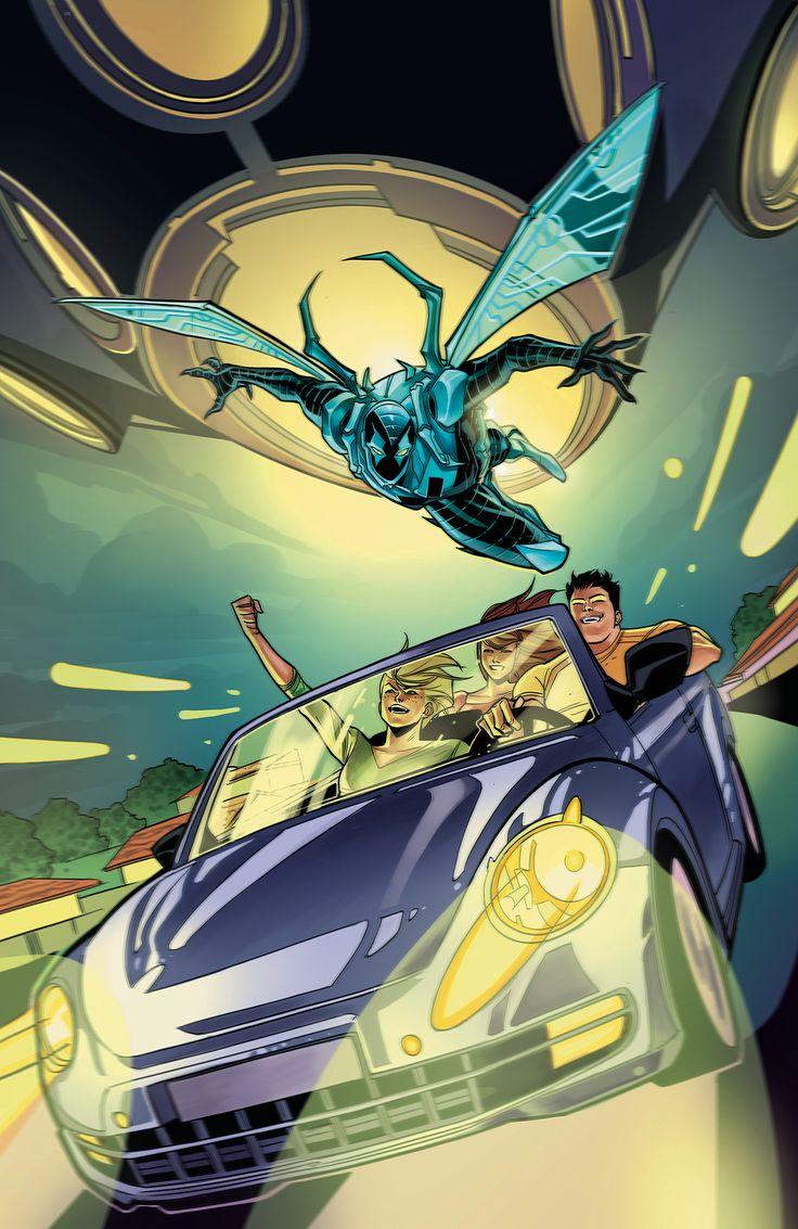 BLUE BEETLE #14NUEVO EQUIPO CREATIVO!  Tras los recientes acontecimientos en El Paso, Jaime y sus amigos deciden tomar un viaje espontáneo por el desierto.  Pero el escarabajo todavía ejerce su influencia, y inevitablemente, lo llevará a Jaime en peligro, esta vez en la forma de un OVNI ¿Jaime se verá obligado a revelar su identidad como Blue Beetle a su nueva novia?