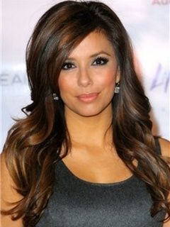 New Elegant Attractive Super Smooth Long Loose Wavy Mixed Brown Lace Wig 100% Human Hair about 18 Inches Item # W2193  Original Price: $699.00 Latest Price: $231.09