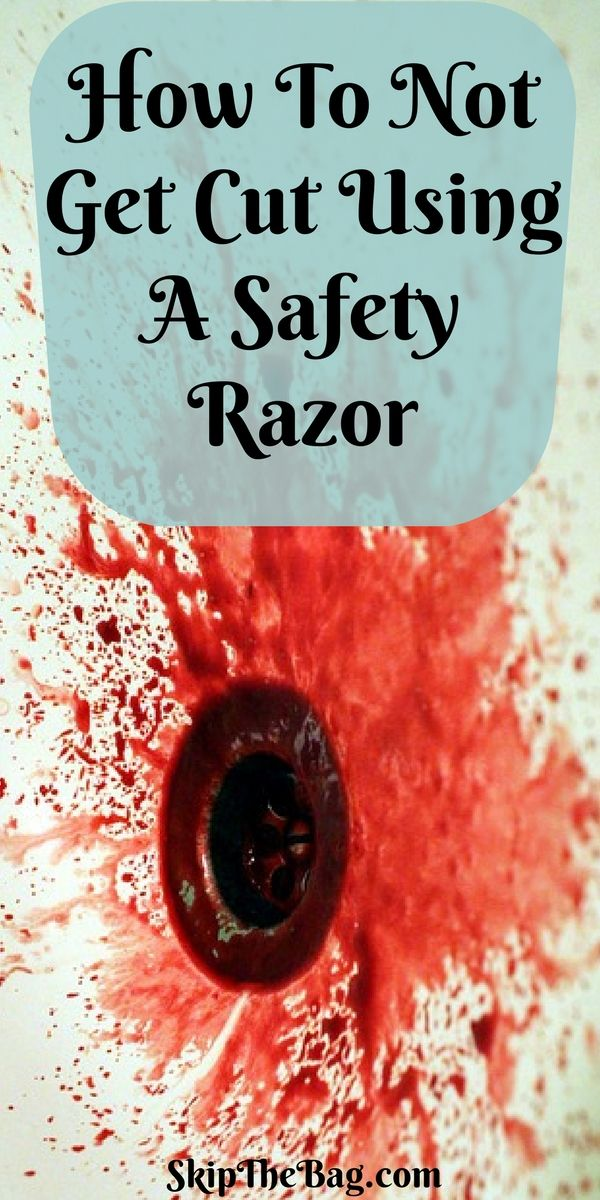 How To Not Get Cut Using A Safety Razor.  Tips and tricks for a close shave using a plastic free and zero waste razor. Seriously, it's easy, don't be afraid.