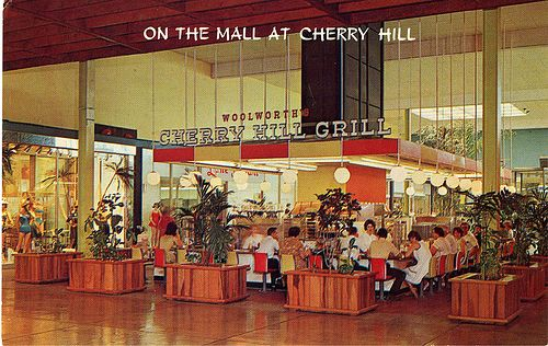 Woolworth's Cherry Hill Grill, Cherry Hill Mall NJ