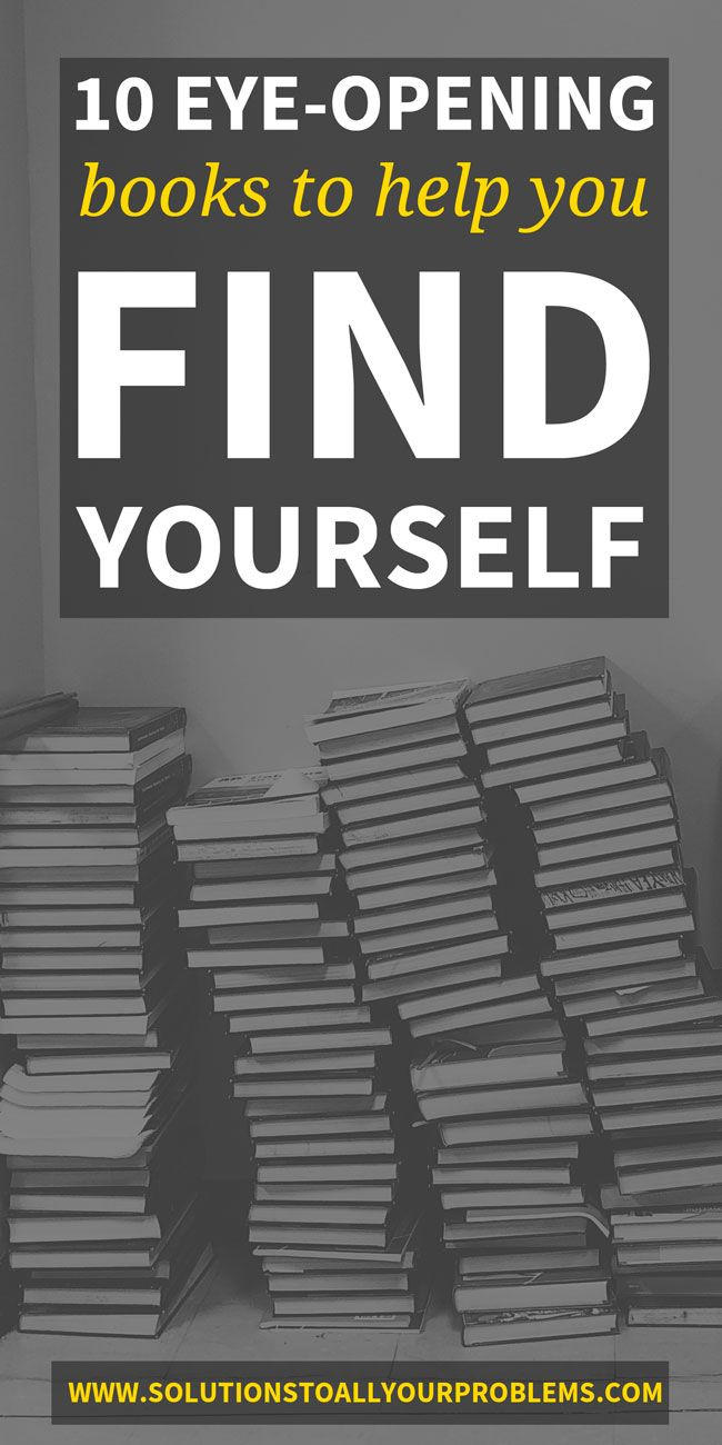 Books To Help You Find Yourself Books For Self Improvement