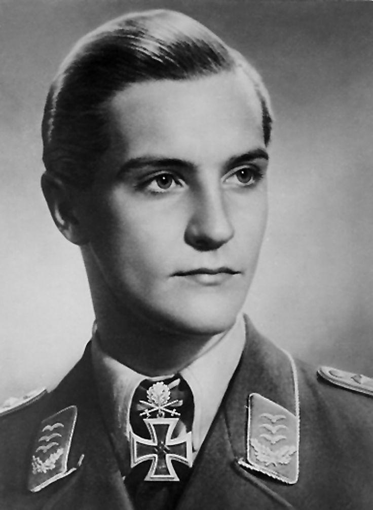 有名なパイロット。ハンス・ヨアヒム・マルセイユ。