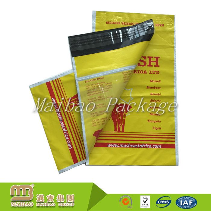 China Supplier Personalised Custom Gravure Printing Plastic Waterproof Mail Delivery Bag For Packing