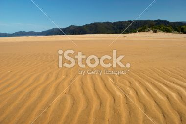 Totaranui Beach, Abel Tasman National Park, New Zealand Royalty Free Stock Photo