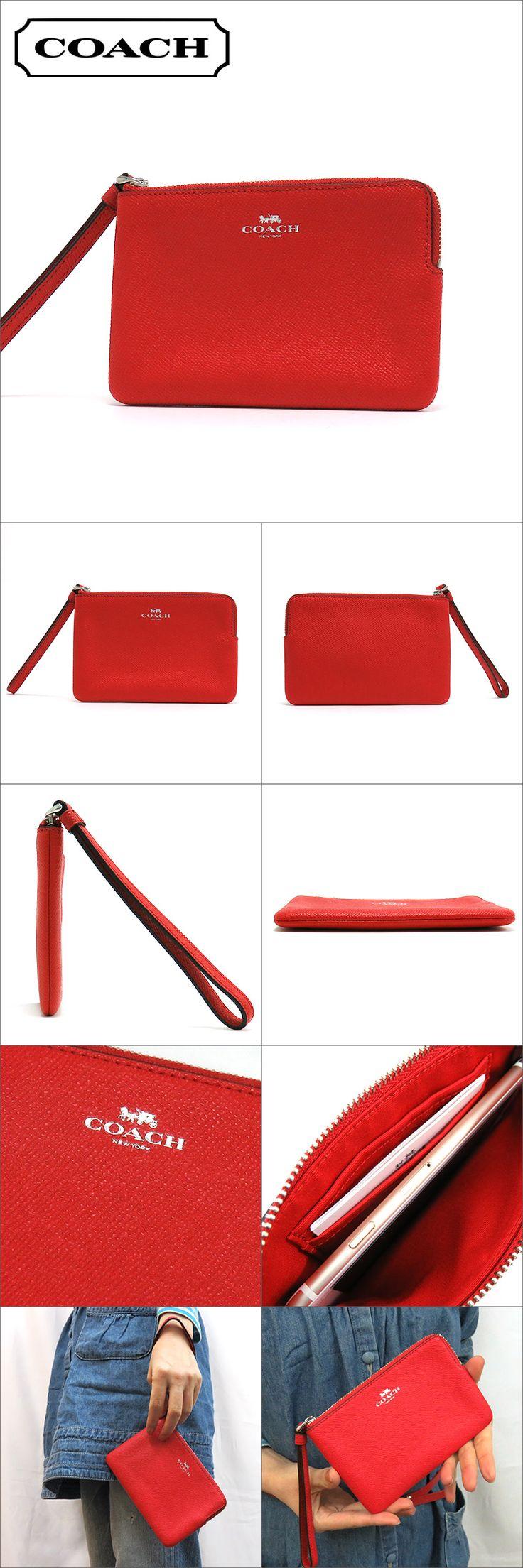 mkcollection | Rakuten Global Market: Coach porch Lady's COACH accessory blight red F58032 SVBRD