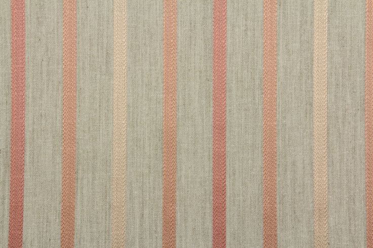 7 5 Mts Laura Ashley Quot Luxford Stripe Quot Coral Upholstery