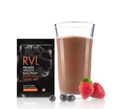 RVL Shake Mix é um delicioso shake sabor chocolate para controle de peso, que pode substituir até duas refeições diárias.Com 4 fontes de proteínas (concentrado protéico de soro de leite, proteína isolada de soja, colágeno hidrolisado e albumina), além de fibras, vitaminas, minerais, colágeno hidrolisado e mais 10 frutas (cacau, maçã, mamão, pêra  abacaxi, kiwi, pêssego, morango, acerola e açaí),o RVL Shake Mix tem os nutrientes necessários para substituir uma refeição completas.