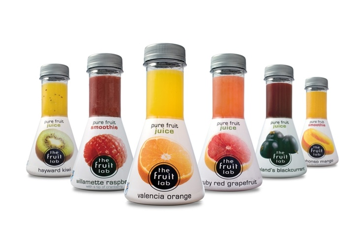Packaging + Product Design. The Fruit Lab. Pure Fruit Juice.