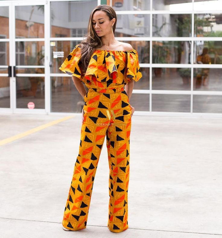 388 Best Ankara Styles... Images On Pinterest | African Style African Women And Ankara Jumpsuit