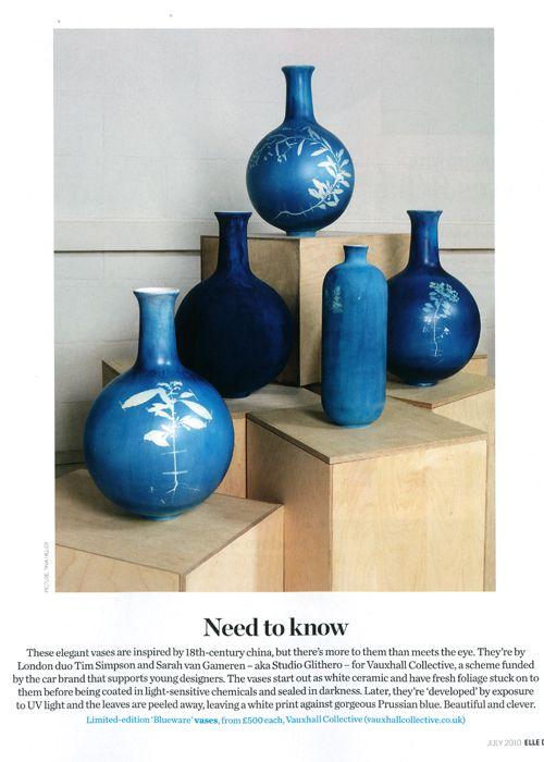 Blue Friday: Blueware by Studio Glithero - Happy Mundane   Jonathan Lo