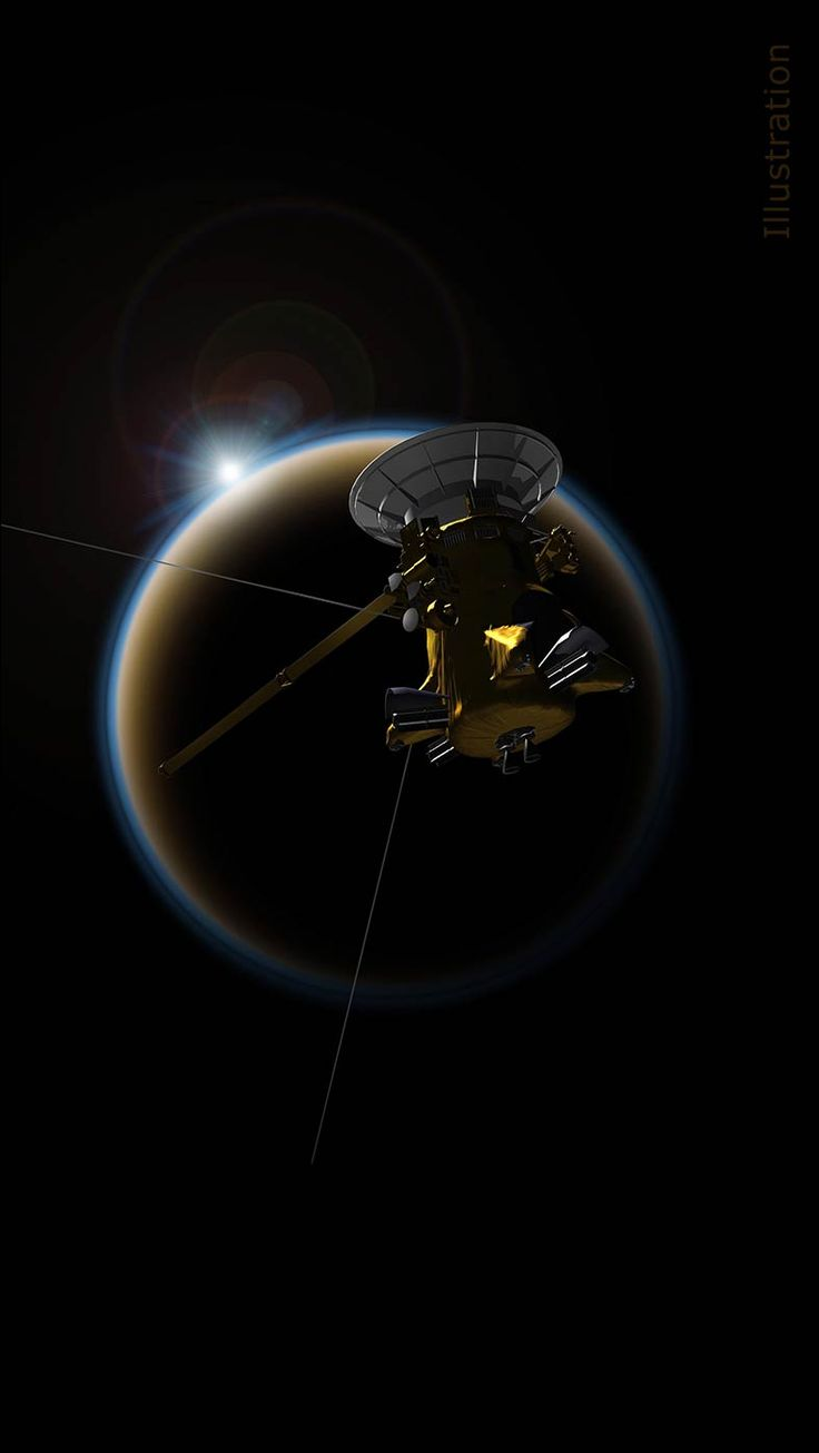 Nasa s cassini spacecraft will make its final close flyby of saturn s haze enshrouded moon titan